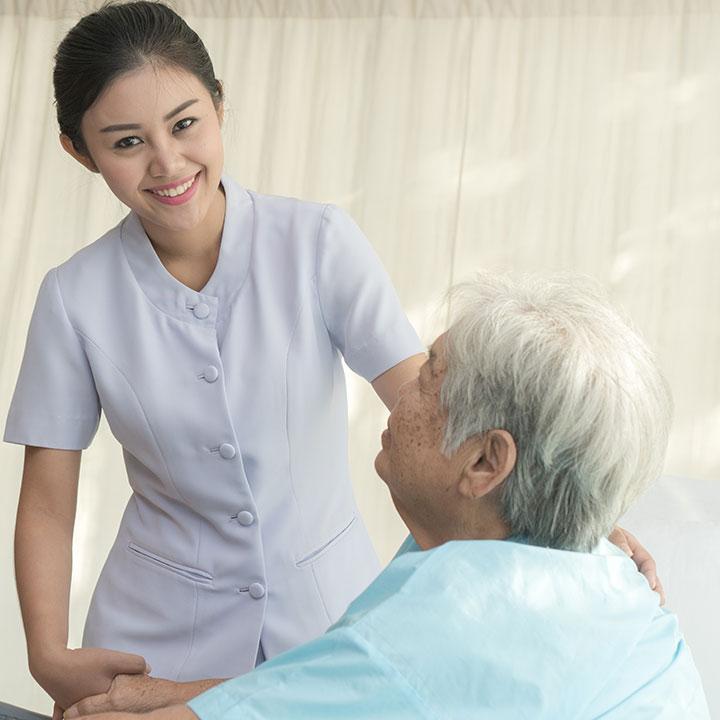 自宅で行われる医療・看護サービス